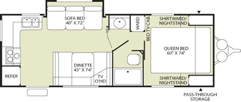 Fleetwood Prowler Travel Trailer Floor Plans by 2006 Fleetwood Wilderness Specialty Trailer Rvweb