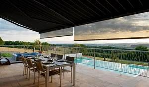 Pare Soleil Balcon : photos store banne vertical terrasse balcon ext rieur ~ Edinachiropracticcenter.com Idées de Décoration