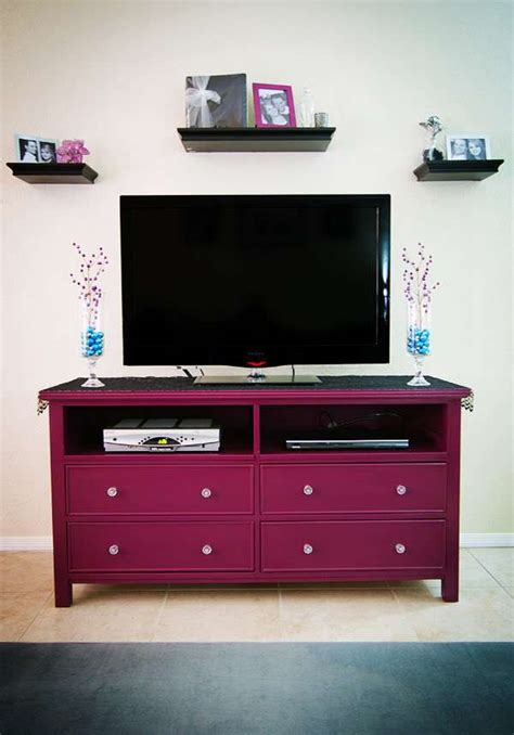 turning a dresser into a tv stand give new to an dresser premier residential