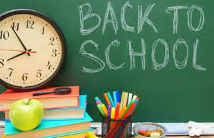 August Back to School Images