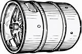 Keg Clipart Clip Kegs Beer Vector Clker Cliparts Clipground Library Domain sketch template