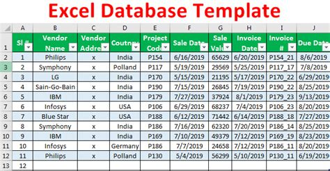 Are you looking for excel templates files? Customer database Excel template? - Angkoo