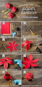 DIY Chinese New Year Paper Lantern - Lia Griffith