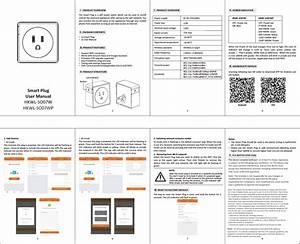 Hank Electronics So07w Smart Plug User Manual Hkwl So07w