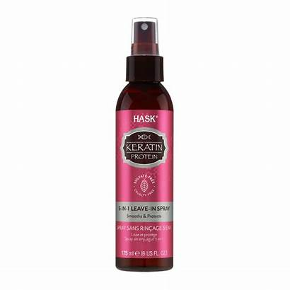Keratin Protein Spray Leave Hask Oil Water