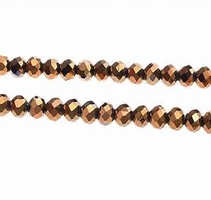 Oskar Tonne Metall : 20 tschechische kristall glasperlen facettiert 8mm fire polished gold braun x51 ebay ~ Markanthonyermac.com Haus und Dekorationen