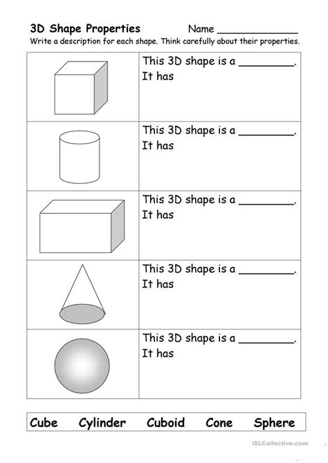 what shape am i worksheet free esl printable worksheets