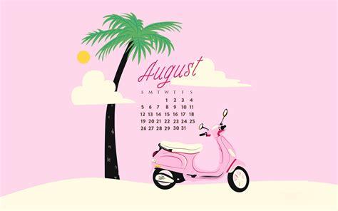 august  calendar wallpapers calendar