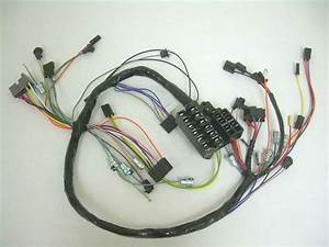 1962 Impala Under Dash Wiring Harness With Fusebox