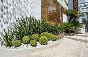 Idee Amenagement Jardin : am nagement jardin devant maison en 50 id es modernes ~ Melissatoandfro.com Idées de Décoration