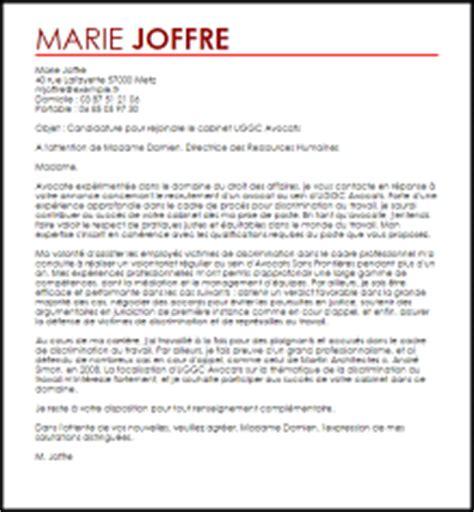 exemple lettre de motivation avocate livecareer