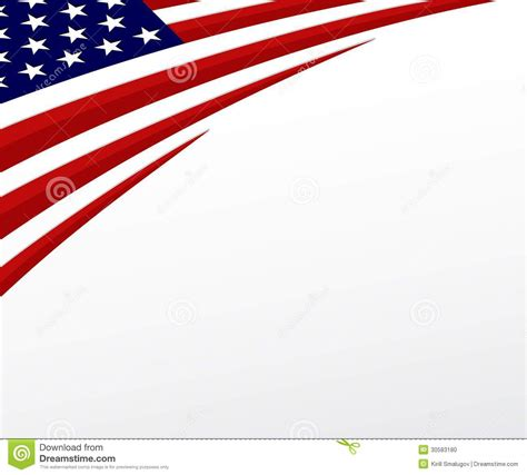 usa flag united states flag background vector stock