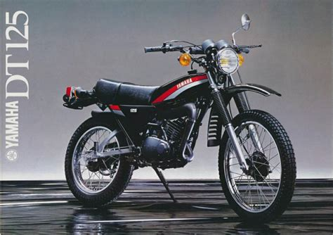 Tvs Max 125 Semi Trail Picture by Yamaha Dt125