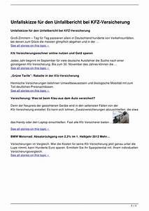 Kfz Versicherung Berechnen Ohne Anmeldung : unfallskizze f r den unfallbericht bei kfz versicherung ~ Themetempest.com Abrechnung