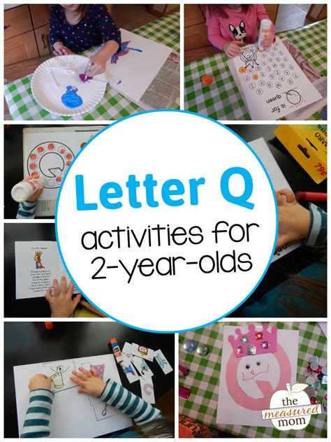 letter  activities   year olds  measured mom