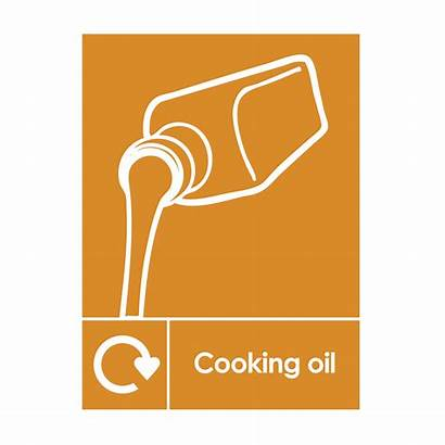 Oil Cooking Recycling Sign Catersigns