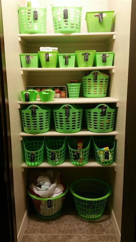 pantry organization  dollar tree baskets  target