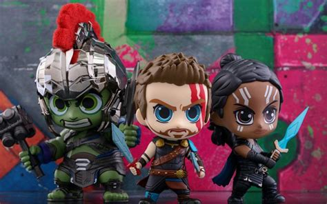 the thor ragnarok cosbaby bobblehead series