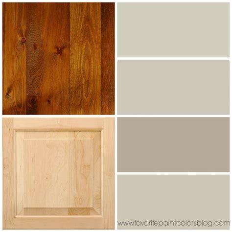 greige paint colors    wood trim  cabinets