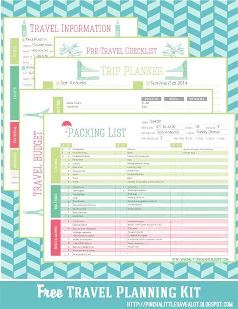 travel planning kit pinch   save  lot