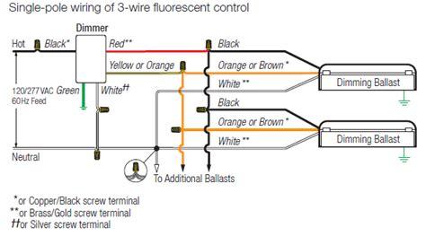Lutron Ntf Nova Fluorescent Wire