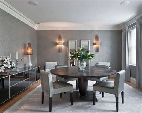 Grey Dining Room Home Design Ideas, Pictures, Remodel And. Small Bathroom Vanities. Luxury Home Interiors. Russell Pool. 30 Inch Table. Modern Wine Rack. Modern Bookends. Dining Banquette Seating. Ikea Laundry Sink