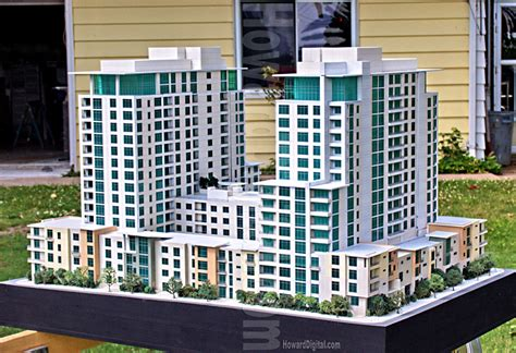 Architectural Scale Models - Howard Architectural Models San Diego, CA, Architectural Model