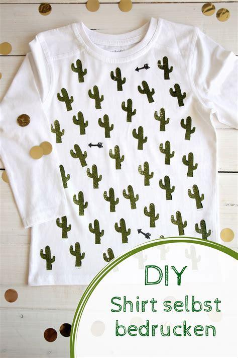 mitgebsel für kinder diy moosgummi stempel selber machen und shirts