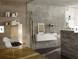 12 peinture a effet pour les murs de la maison deco cool With peinture effet beton sur bois