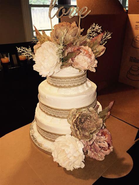 beautiful cake  cheep  easy sams club cake  flowers  michaels  reason