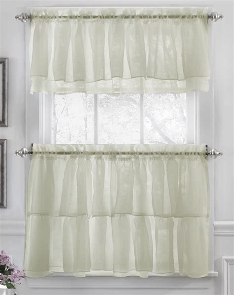 gypsy kitchen curtains cream lorraine country
