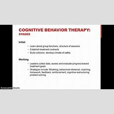 A Cbt Approach To Group Counseling Youtube