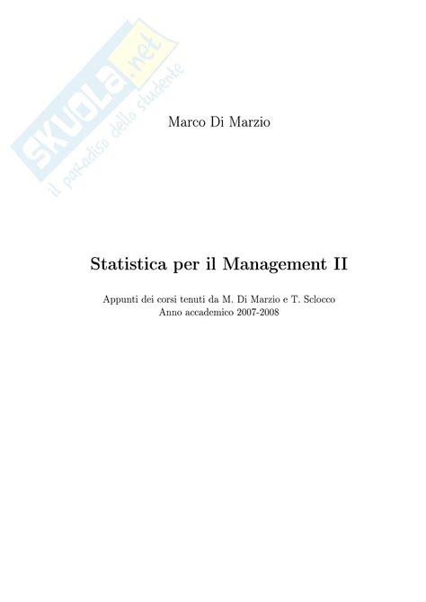 statistica dispense statistica dispensa parte 2 dispense
