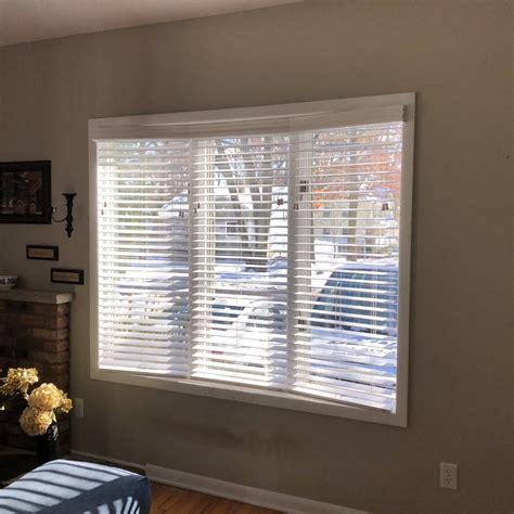 faux wood blinds  bay window  park ridge nj latest