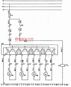 The Electric Window Circuit Of Daewoo Racer