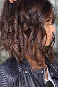 Balayage Cheveux Frisés : quel couleur de balayage pour cheveux bruns coupes de cheveux et coiffures ~ Farleysfitness.com Idées de Décoration