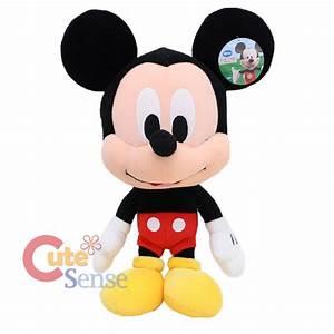 Disney Baby Mickey Minnie Mouse Plush Figure Doll Set ...