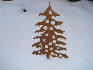 Weihnachtsbaum Metall Groß : weihnachtsbaum mit kugeln 1 15 m gro aus corten edelrost ~ Sanjose-hotels-ca.com Haus und Dekorationen