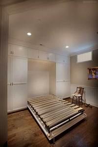 Custom Murphy Bed Cabinet in Bethesda, Maryland