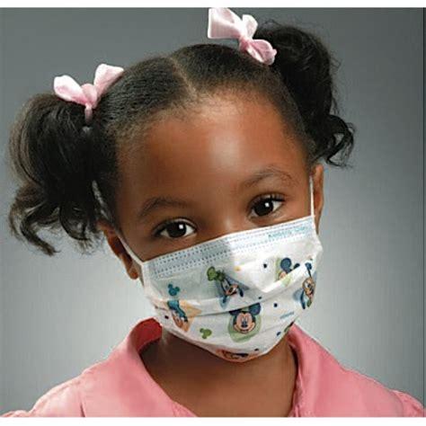 kids face masks box