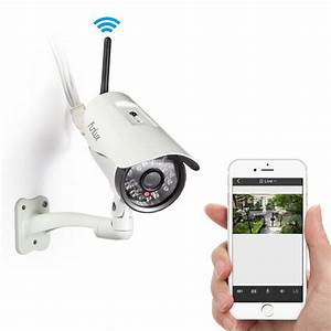Outdoor wireless security camera review for Wireless exterior security cameras