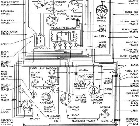 1957 Ford Wiring Diagram by Complete Wiring Diagrams Of 1953 1957 Ford Anglia All