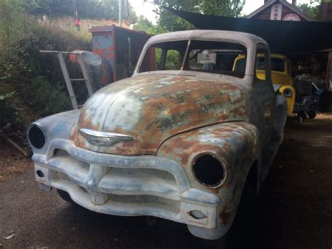 1950 3100 chevy truck rat rod rod project no air ride 1949 1951 1952 1953 for sale