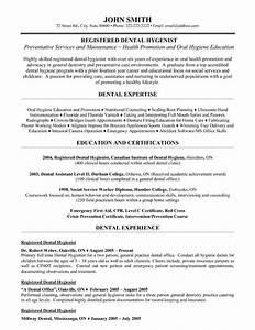 Registered dental hygienist resume template premium for Dental hygienist resume template free