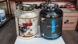 Terror Labz Whey Protein Punisher Vs Rule 1 R1 Whey Blend