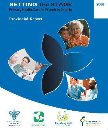 Health services - Le Réseau franco-santé du Sud de l'Ontario