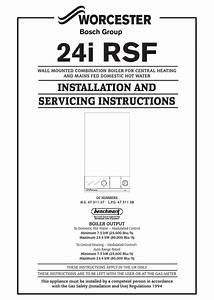 Worcester Bosch 24i Rsf Wiring Diagram
