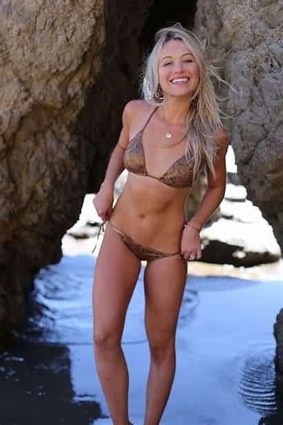 Katrina Bowden Bikini Shine Swimwear Nude Fhm