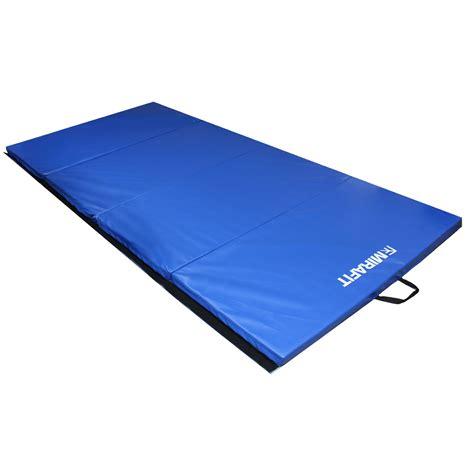 Gymnastic Floor Mat Size by Mirafit 8ft Large Folding Exercise Gymnastics Floor Mat