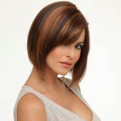 Chocolate Brown Hair with Auburn Highlights